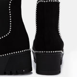 Jolimall Dark Desires Black Suede