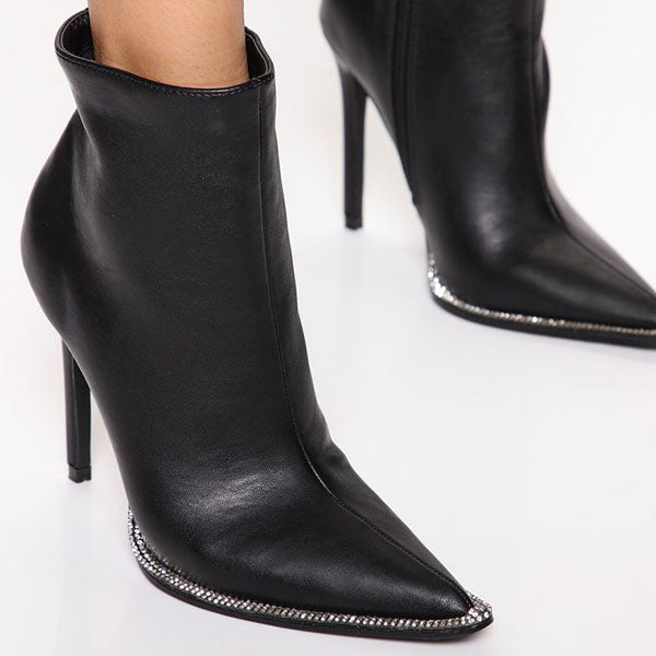Jolimall High Confidence Bootie - Black