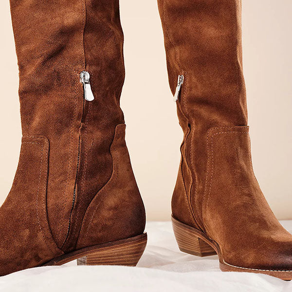 Jolimall Rue Slouch Western Boots