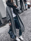 Jolimall Oversized Open Front Womens Long Cardigan Sweaters