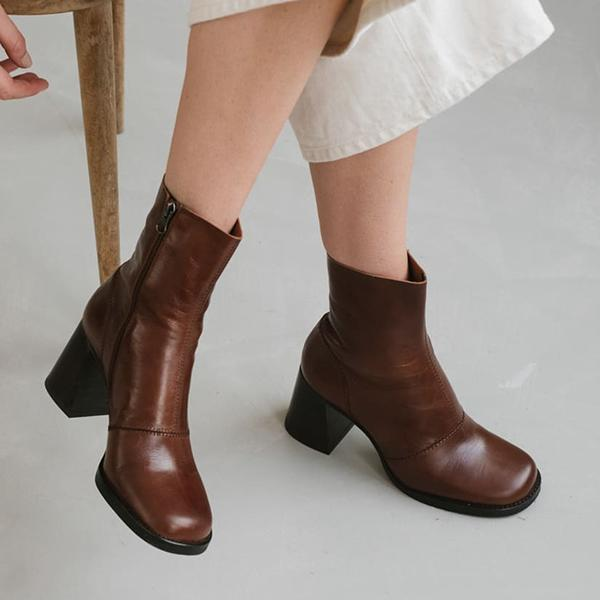 Jolimall Autumn Fashion Short Boots For Women