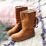 Jolimall Fashion Strap Calf Snow Boots