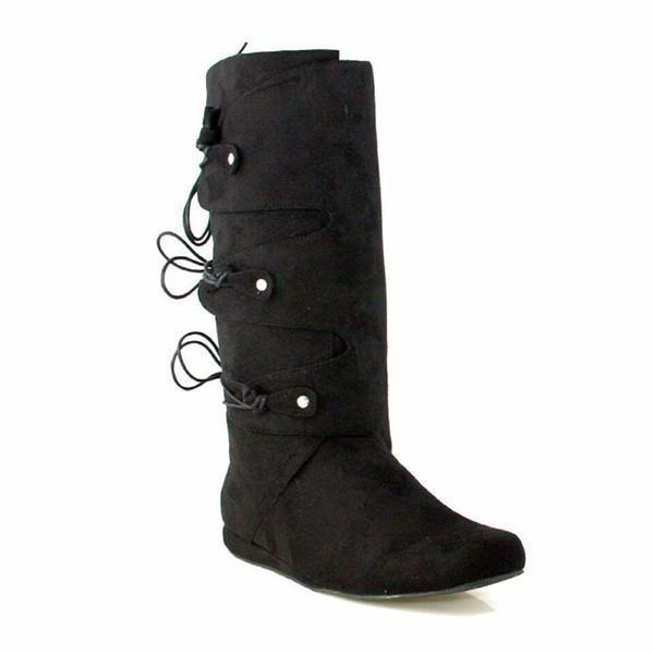 Jolimall Daily Chunky Mid-Calf Boots