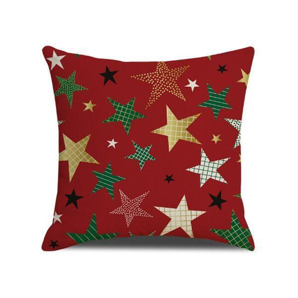 Jolimall Red Christmas Pillow