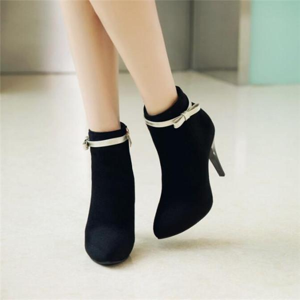 Jolimall Women Fashion Cute High Heel Boots