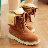 Jolimall Plus Size Women Warm Snow Boots