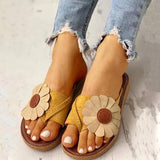 Jolimall Casual Fashion Summer Flower Sandals