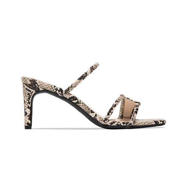 Jolimall Fashion Square Toe Heels Sandals