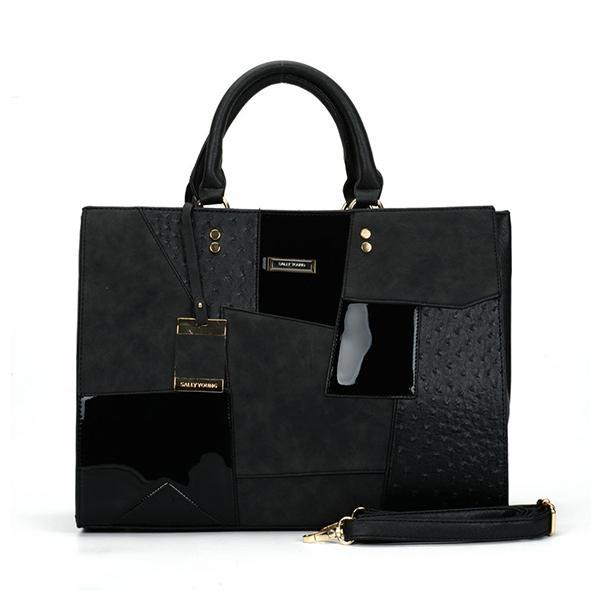 Jolimall Exquisite Pendant PU Square Tote Bag
