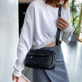 Jolimall Fashion PU Casual Simple Shoulder Bag