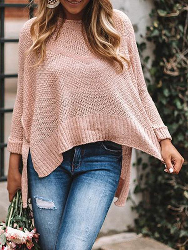Jolimall Daily Casual Round Neck Sweater