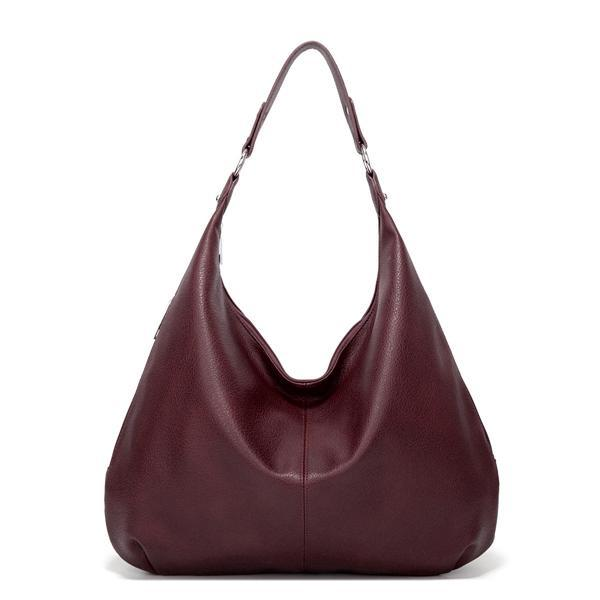 Jolimall Vintage Leisure Tote PU Shoulder Bag