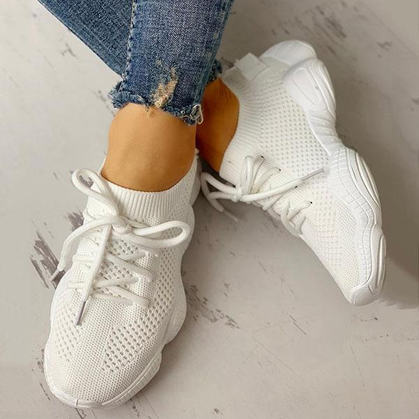 Jolimall Net Surface Breathable Non-Slip Sneakers