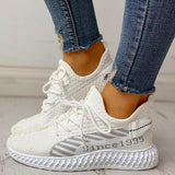 Jolimall Lace Up Breathable Casual Sneakers(Pre-Sale) - Jolimall