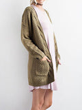 Jolimall Knit Sweater Cardigan Coat