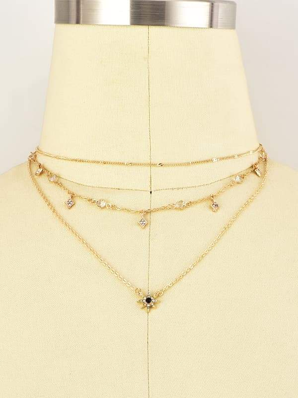 Jolimall Free Multi Layer Necklace