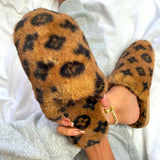 Jolimall Printed Plush Fashion Slippers