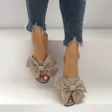 Jolimall Casual Bow Flat Slippers