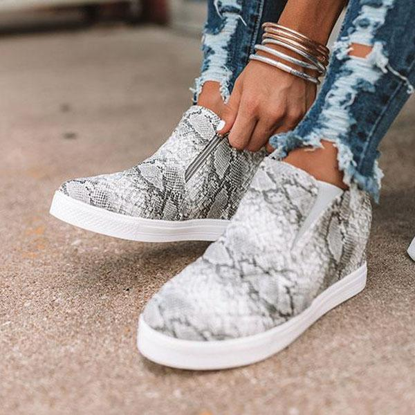 Jolimall Comfy Wedge Sneakers