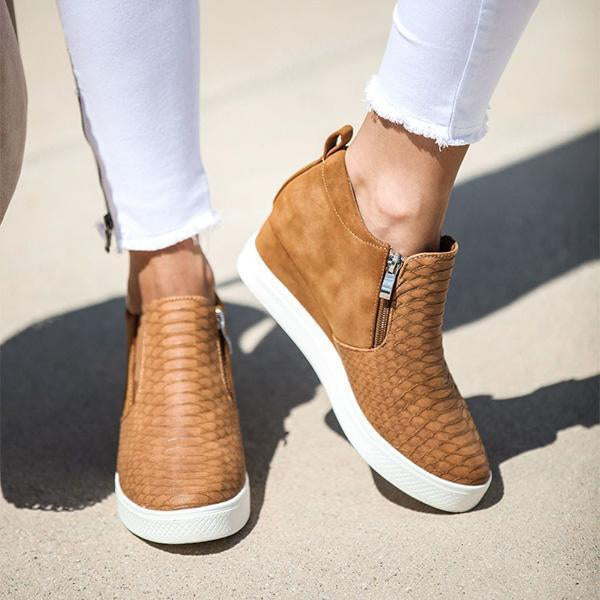 Jolimall Daily Comfy Wedge Heel Sneakers - Jolimall