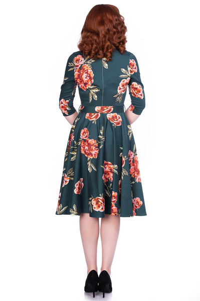 Madison Floral Swing Dress