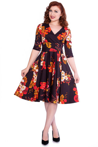 Saloni fifties Swing Dress