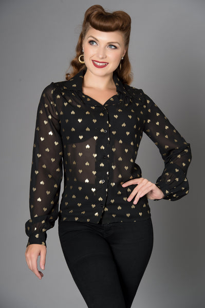 Belinda Heart Blouse