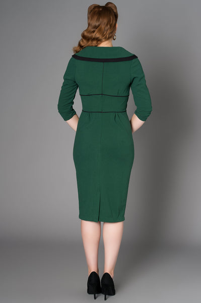 Irma Forest Green Dress