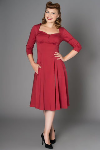 Nannette forties Inspired Dress