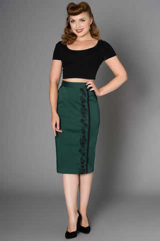 Quisha Pencil Skirt