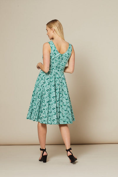 selene-green-floral-midi-dress