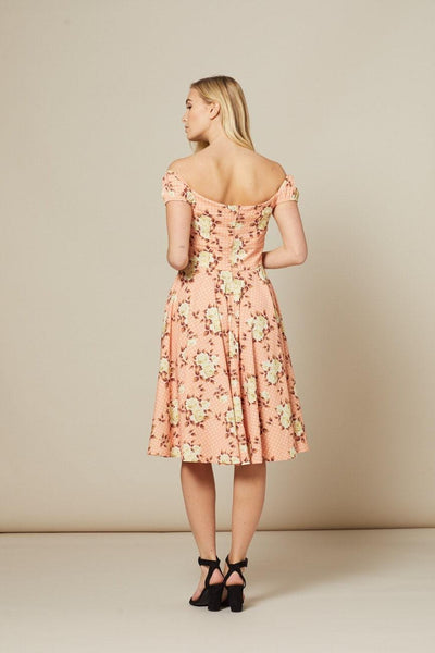 floral-and-polka-dot-swing-dress