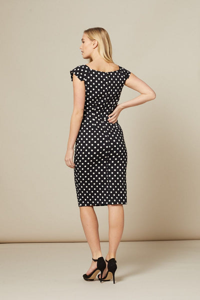 black-and-white-polka-dot-dress-back