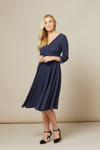 blue-midi-polka-dot-dress