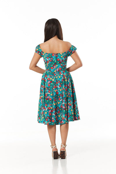 Preston fifties Swing Dress