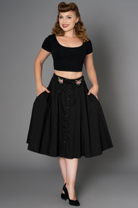 Paulette Hand Embroidered Skirt