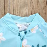 Baby girls one piece swimsuit
