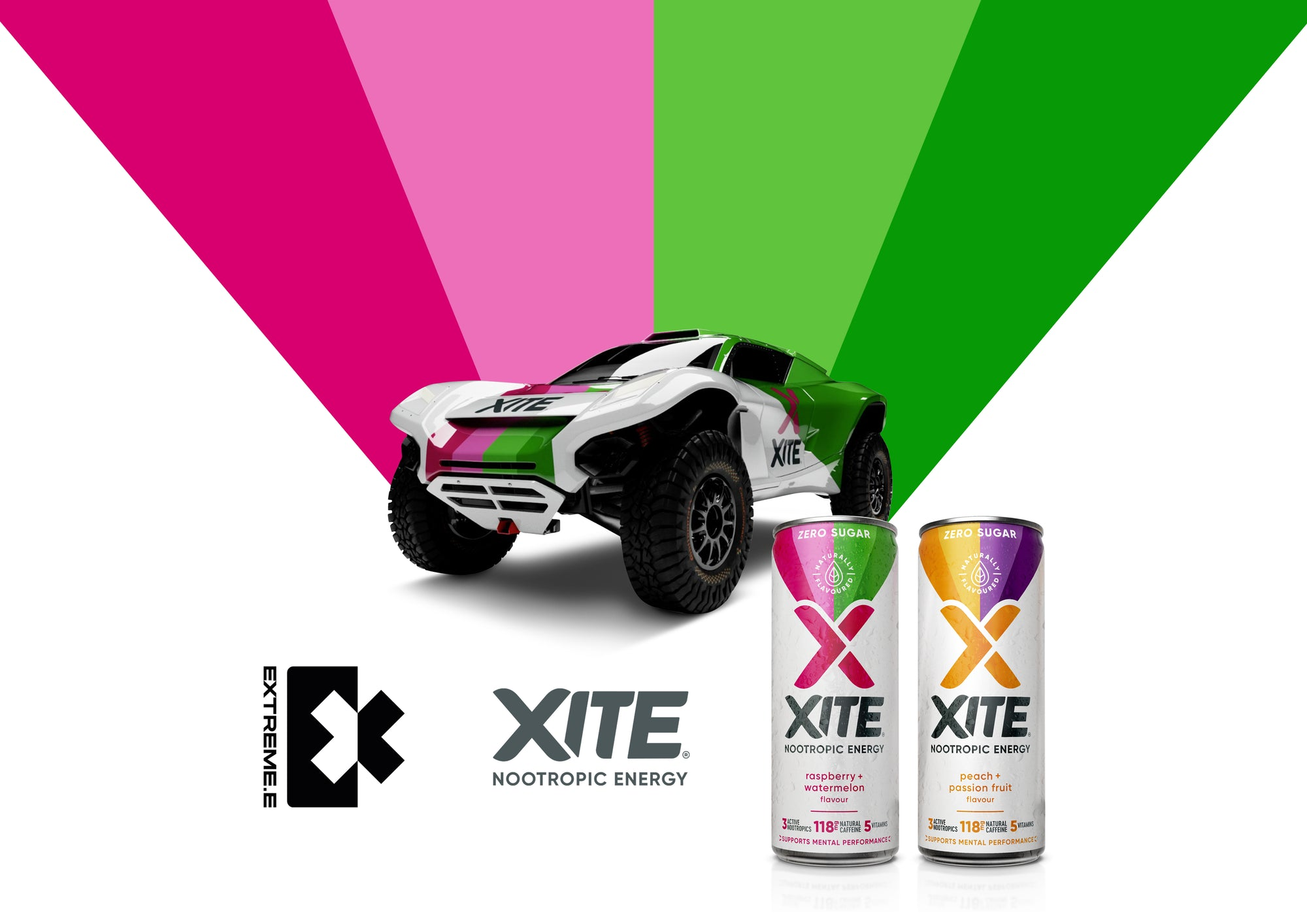 EXTREME E Proudly sponsored by XITE ENERGY!