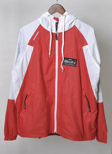 red boxing jacket