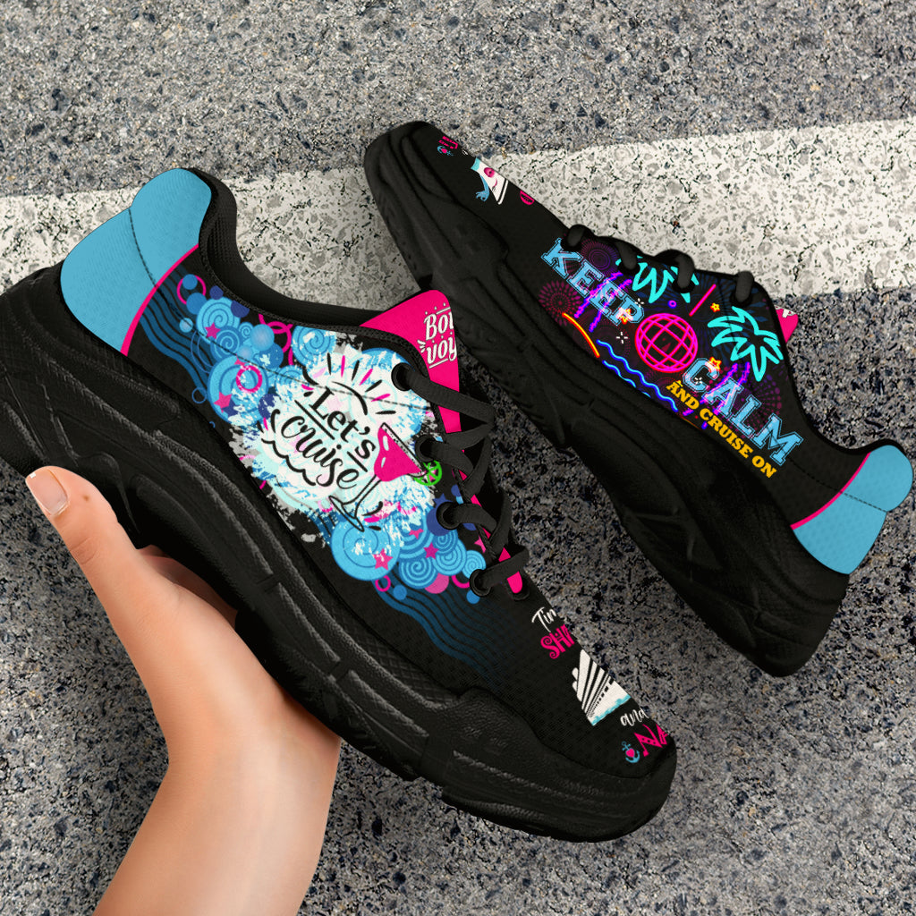 Women's Moonlight Black Cruise Kicks (Express Shipping)