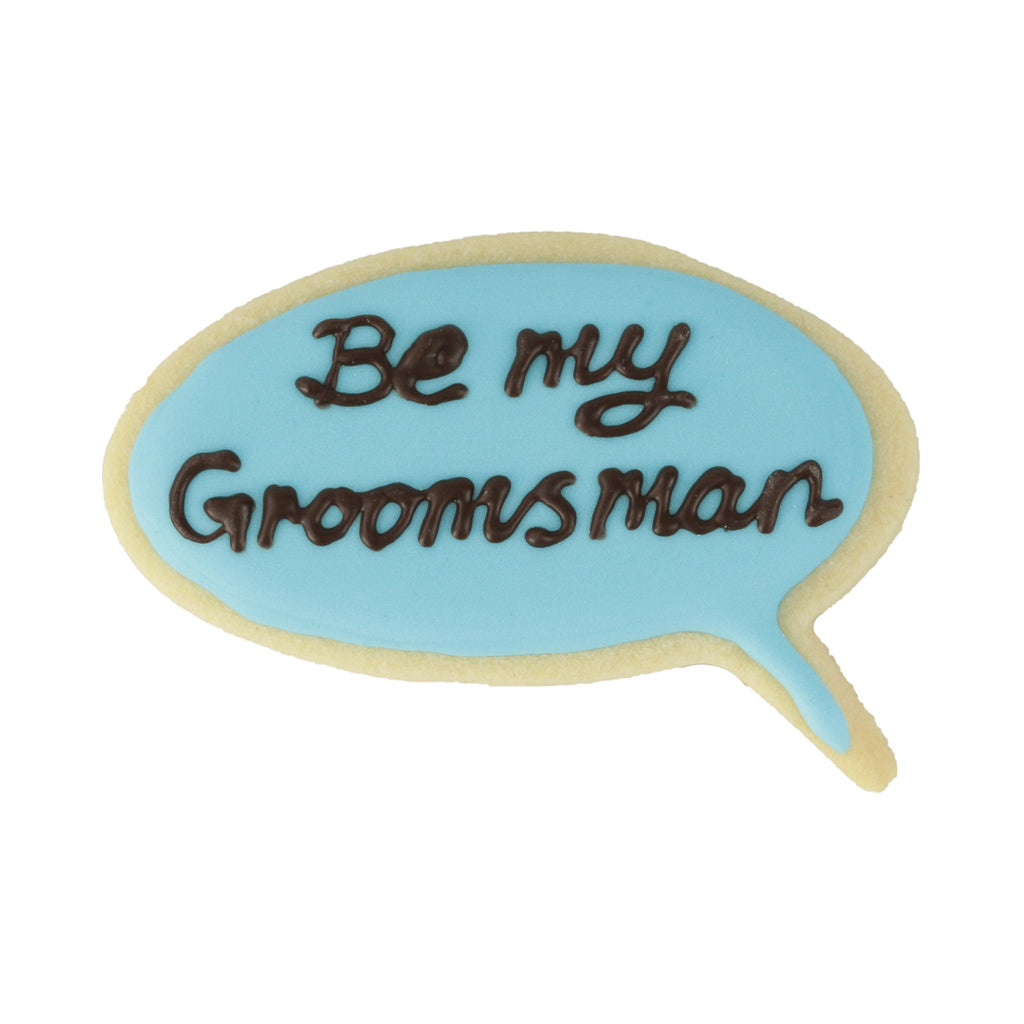 Be My Groomsman - Memory Lane Cookies