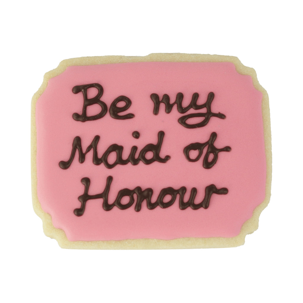 Be My Maid of Honour - Memory Lane Cookies