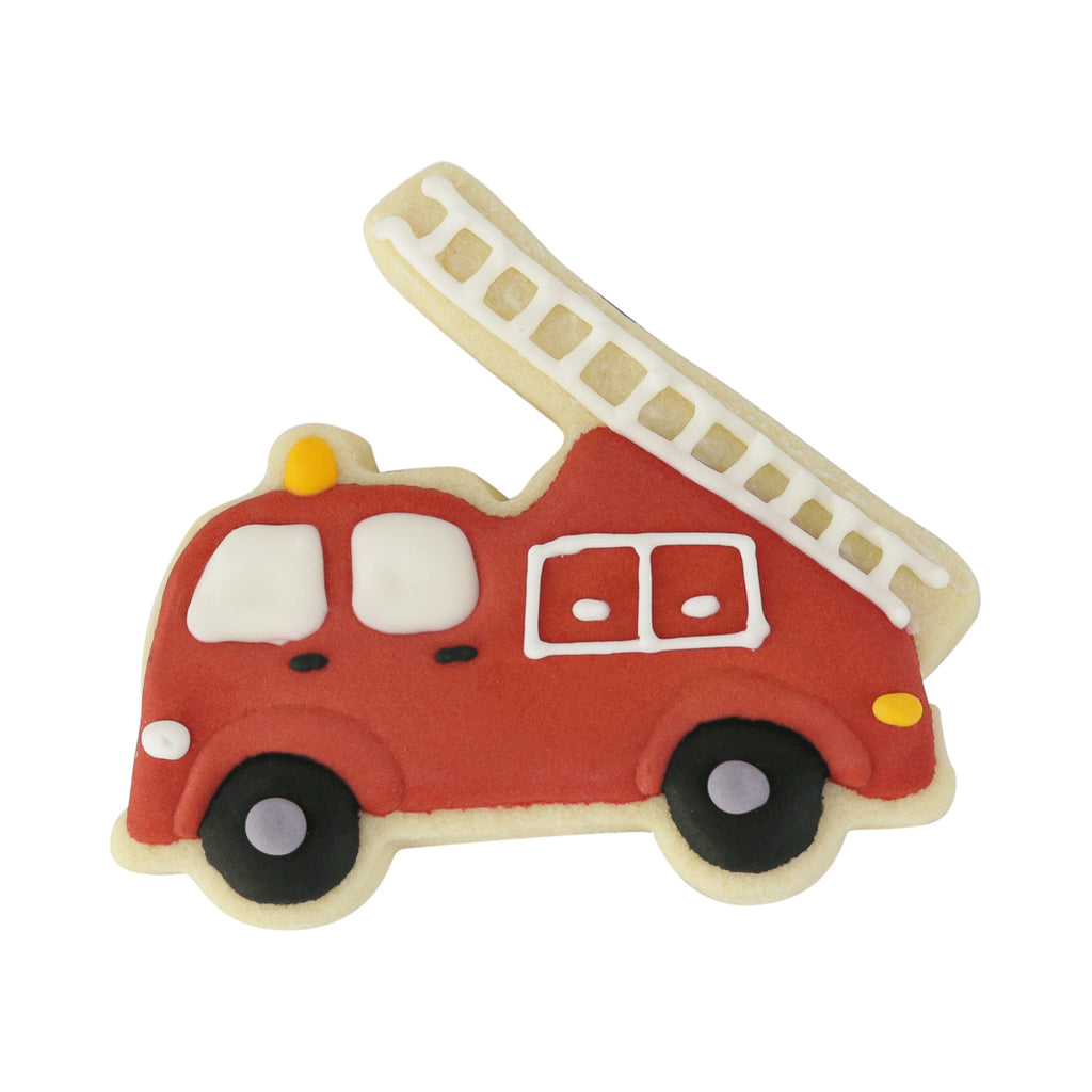 Fire Truck - Memory Lane Cookies