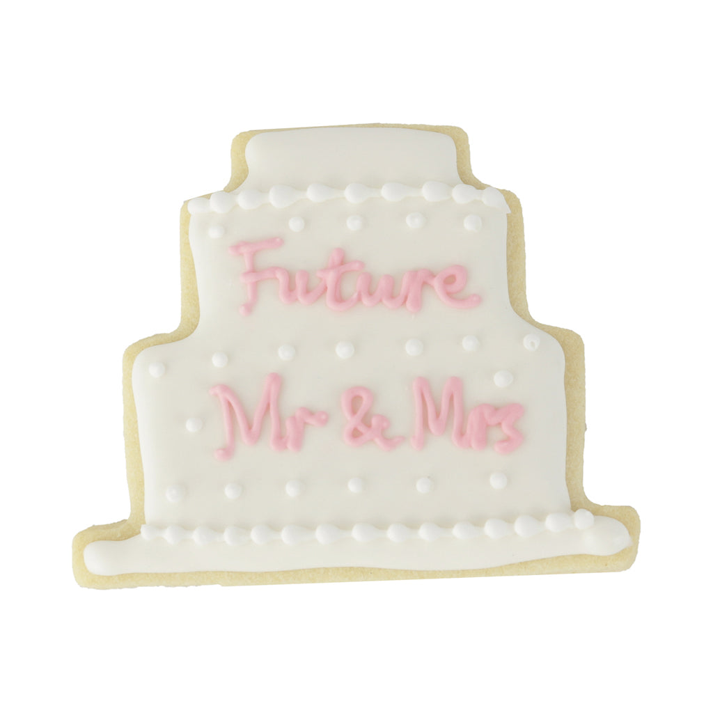Engagement Cake - Memory Lane Cookies