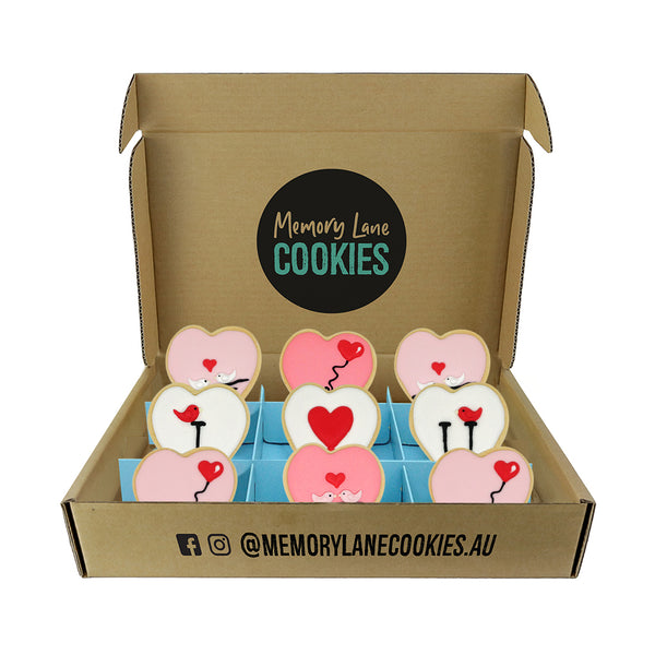 I Love You Cookies Gift Box - Large