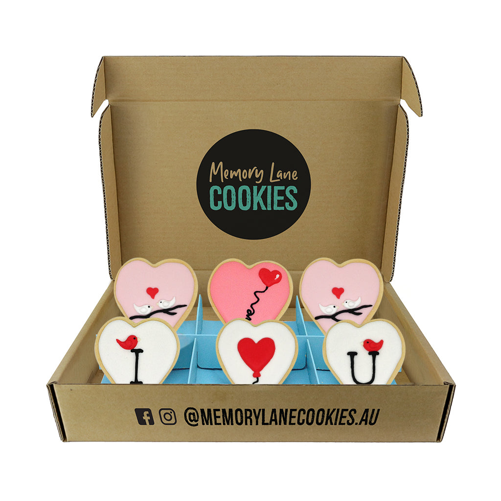 I Love You Cookies Gift Box - Small
