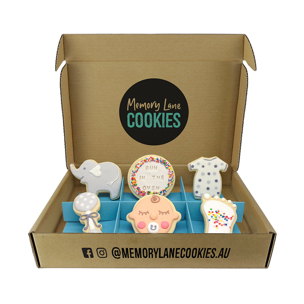 Unknown Baby Gift Box - Memory Lane Cookies