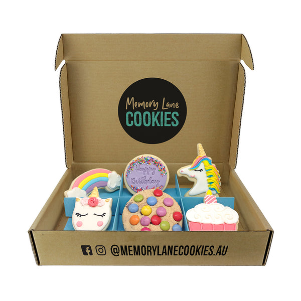Birthday Girl Gift Box - Memory Lane Cookies