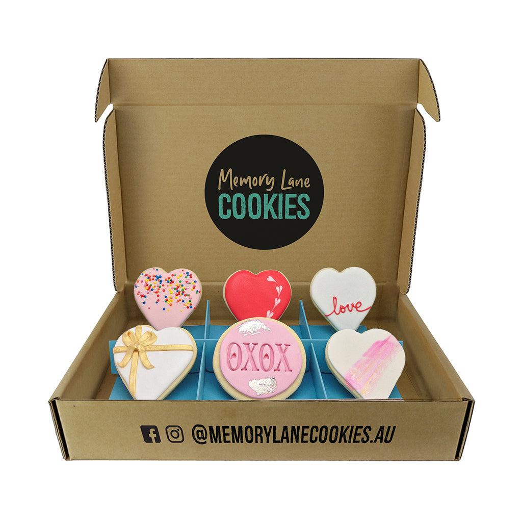 Thinking of You Love Gift Box - Memory Lane Cookies