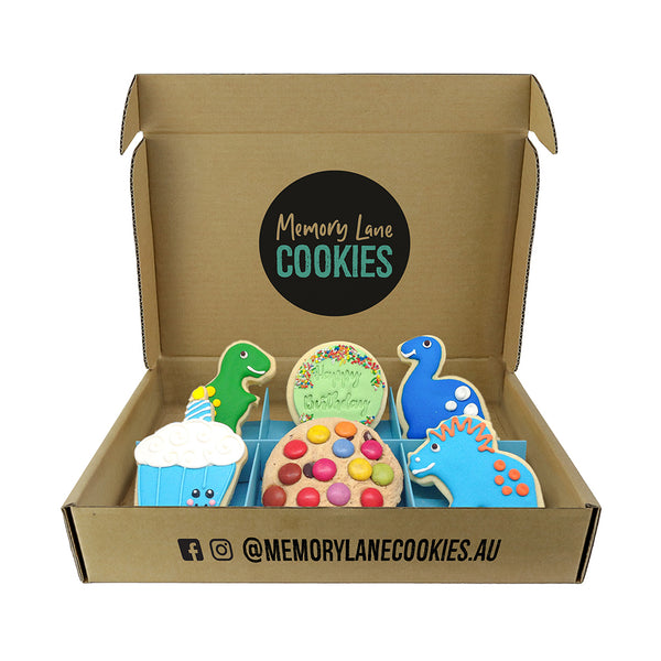 Birthday Boy Gift Box - Memory Lane Cookies